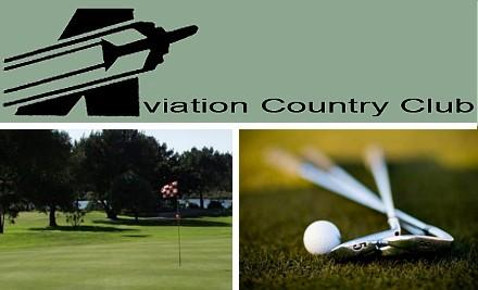 Avaition golf logo
