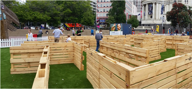 summer in the square - pallets auckland